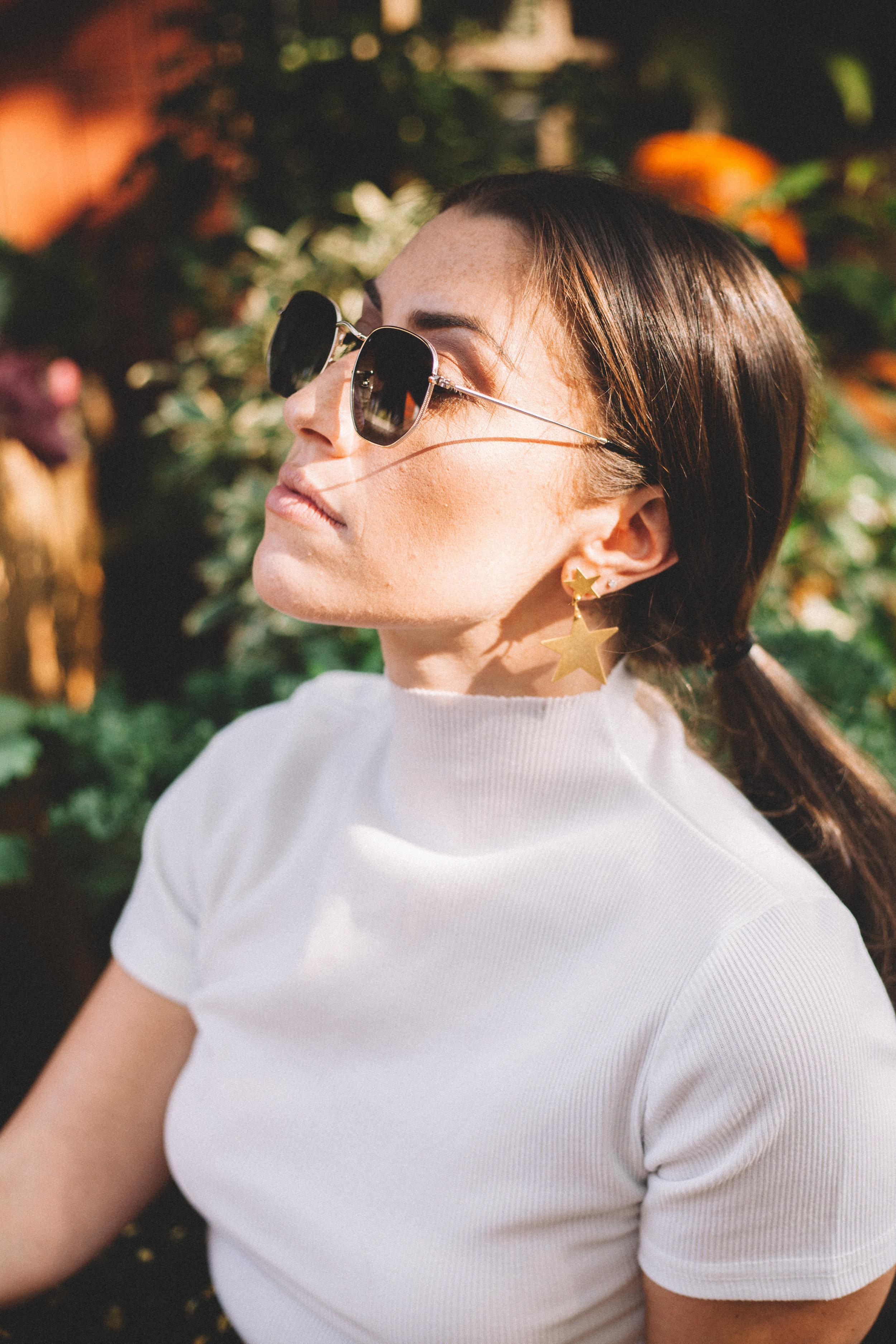 Julia Procaccino Photography @julia_procaccino   SOJOS Small Square Polarized Sunglasses