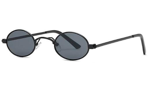 SMALL round Retro Sunglasses   https://www.amazon.com/Kimorn-Sunglasses-Colors-Unisex-Glasses/dp/B07BDKSCBG