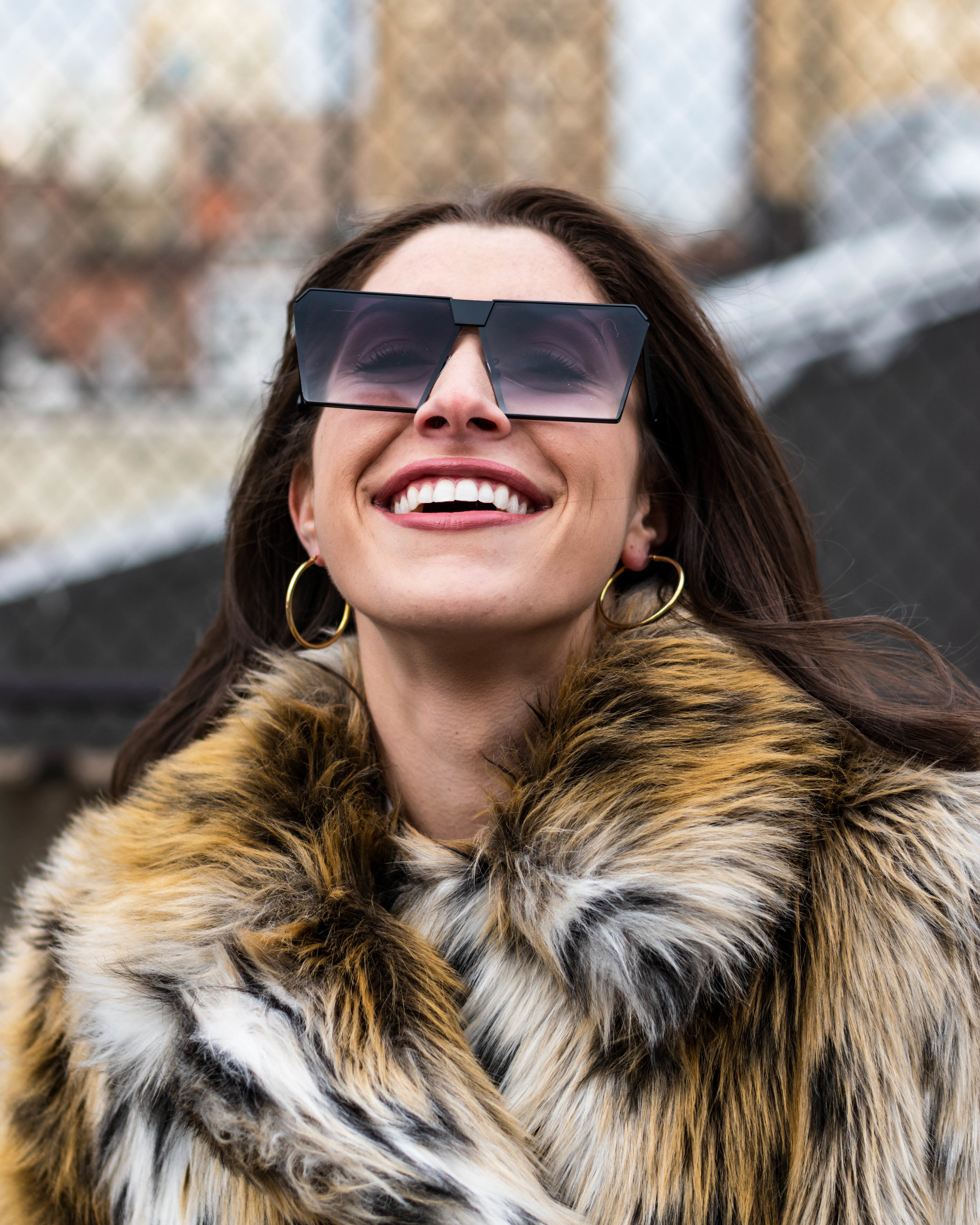 ROYAL   GIRL  Classic Square Women Sunglasses