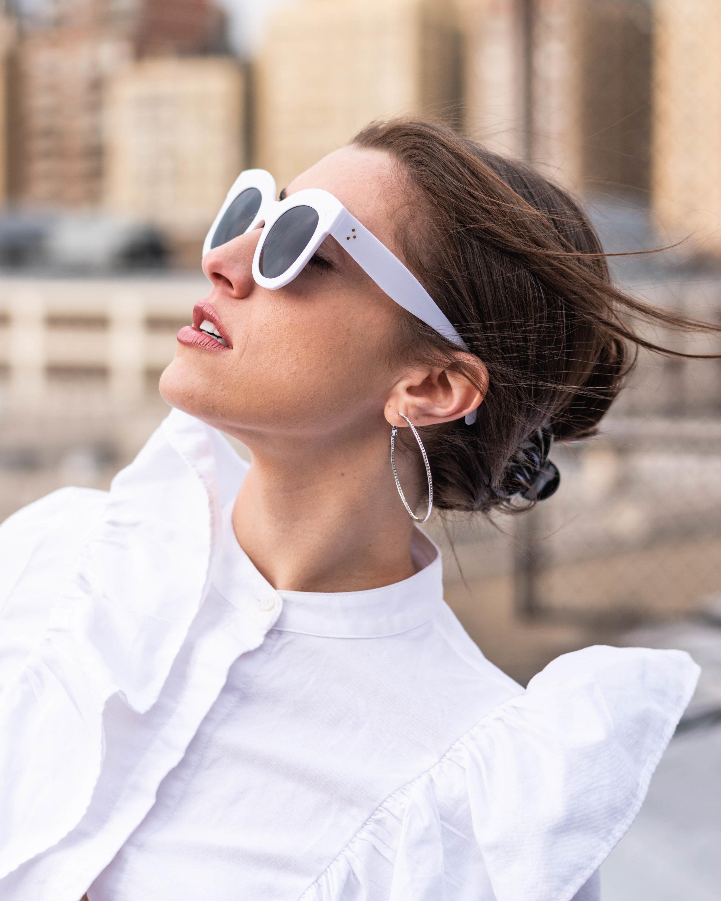 WOWSUN  Oversized Square Sunglasse s