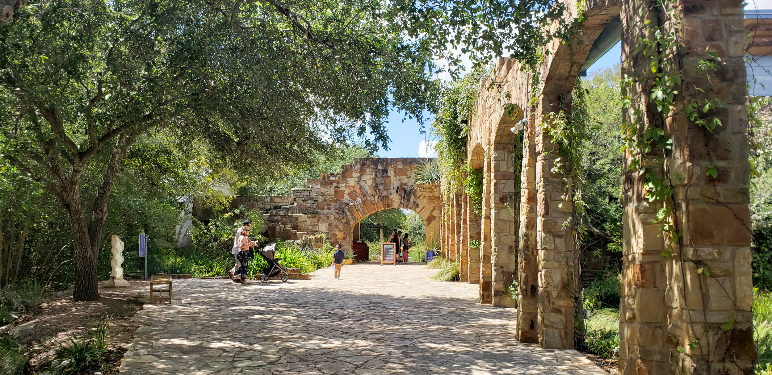 The lady bird johnson wildflower center is a gorgeous educational center dedicated to the preservation of central texas's unique flora and botanical ecosystems.