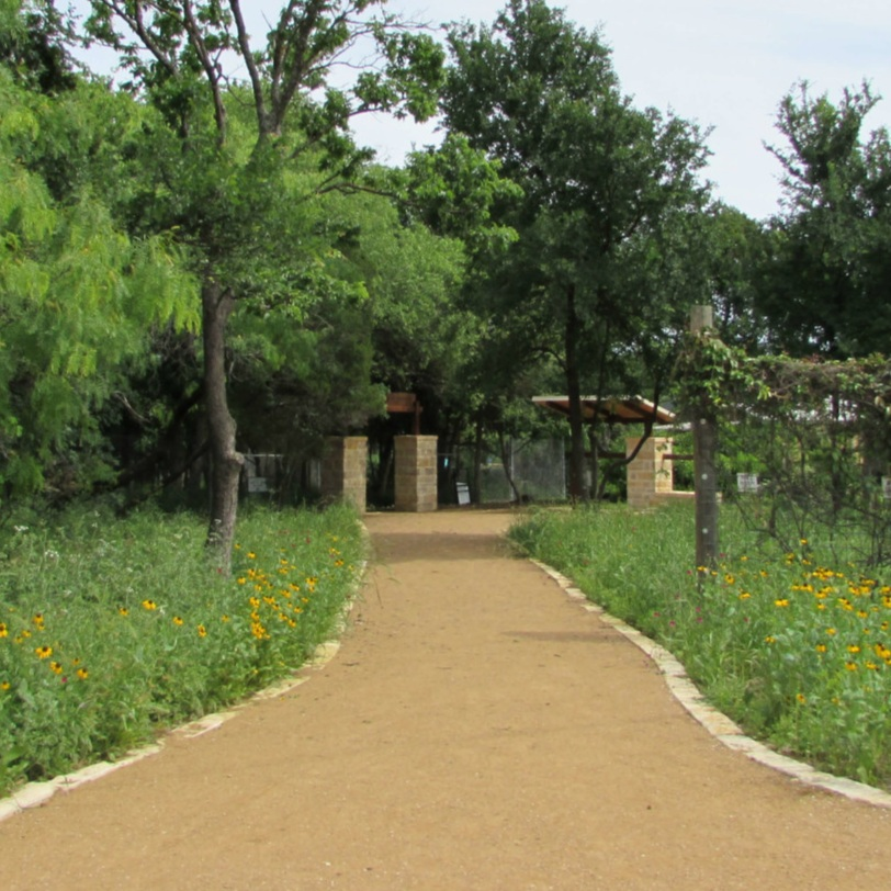 the violet crown trail consists of a mixture of wide gravel and paved trails.