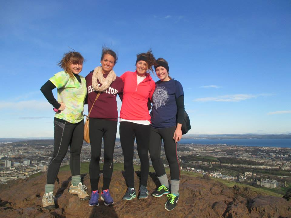 We woke up early and went straight to Arthur's Seat! We made it up, looked around, and hiked back down to soak in the rest of the day before we had to leave. The trip was short so we had to fit in as much as we could. This hike was definitely a highlight.