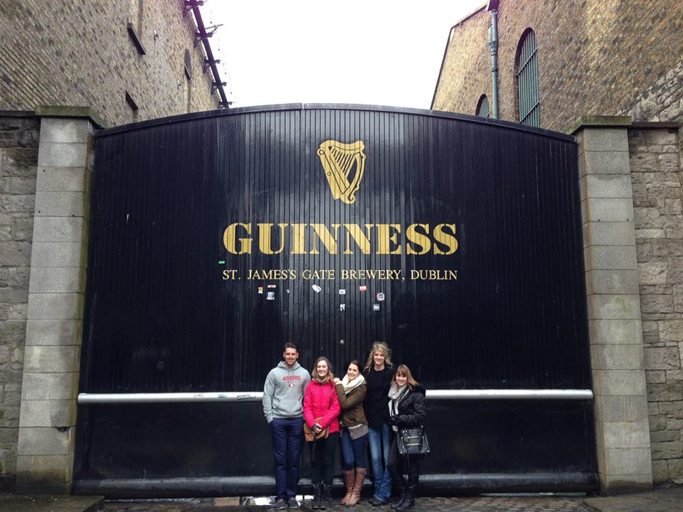 When my friends and I visited Ireland we had a few things to cross off the list. Touring the Guinness factory was one we  had  to do and it was worth it.