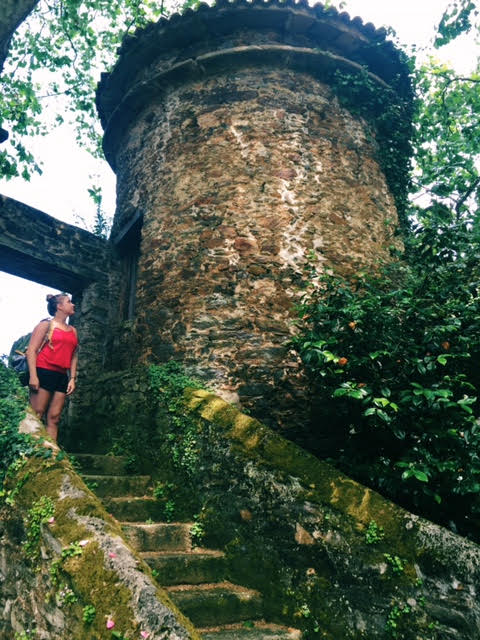 6.21 / 2:47 post meridiem // the beautiful turret in the castle ruins. This place is full of beauty.