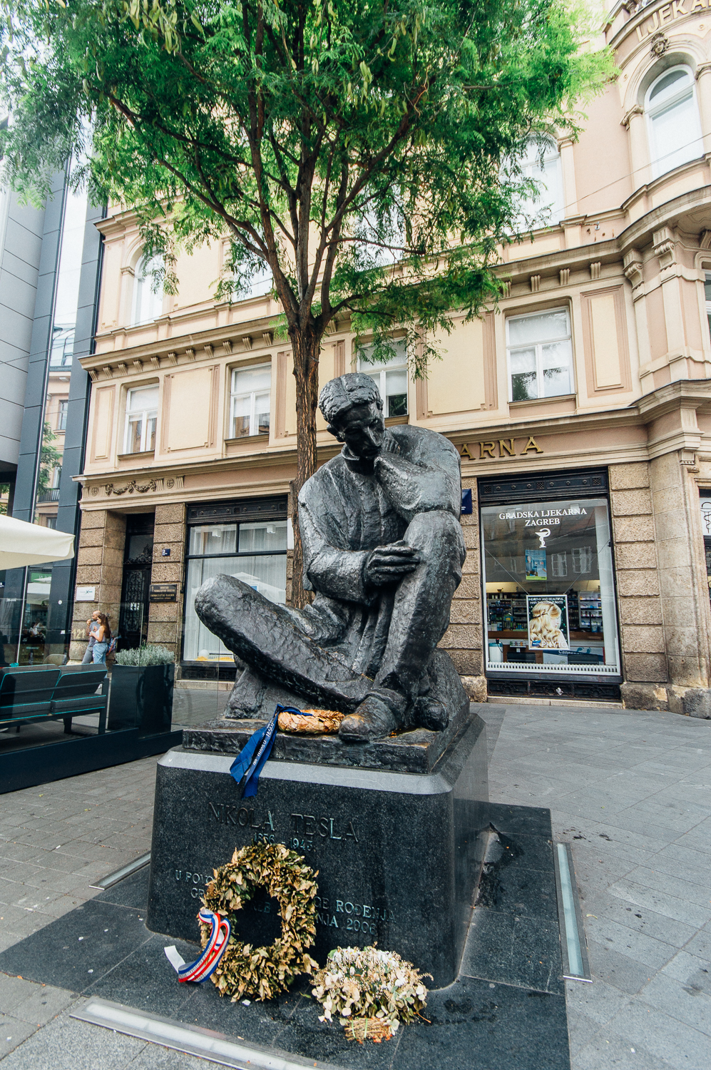 Nikola Tesla makes Croatia proud for his inventions, discoveries, and pure intelligence.