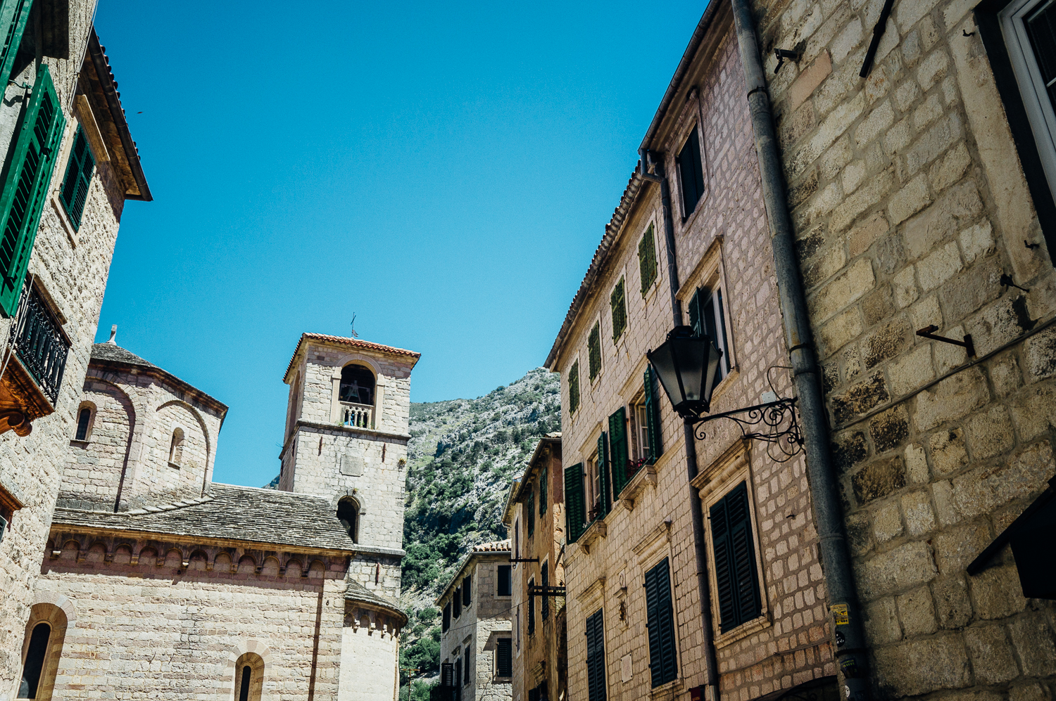Beautiful, cohesive architecture in Kotor