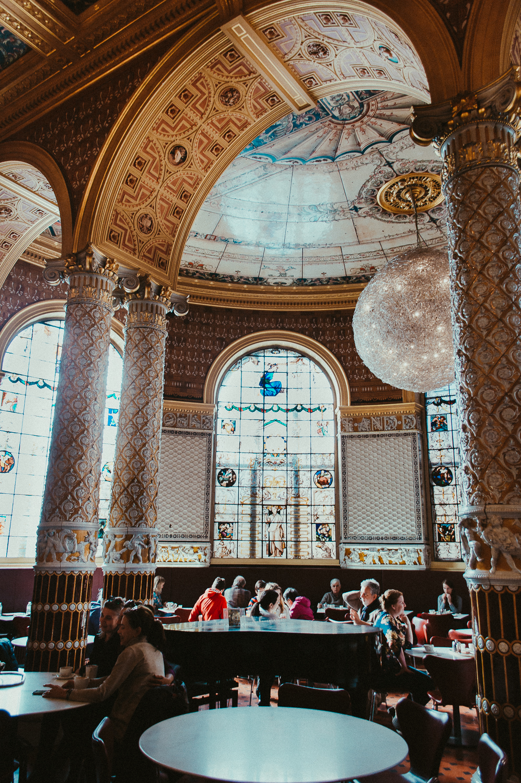 Victoria and Albert Museum cafe   London   2017   Essentials : Warm Memories