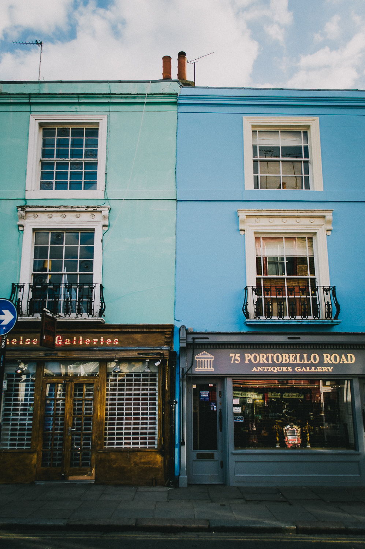 Portobello Road   London   2017   Modern : Blast