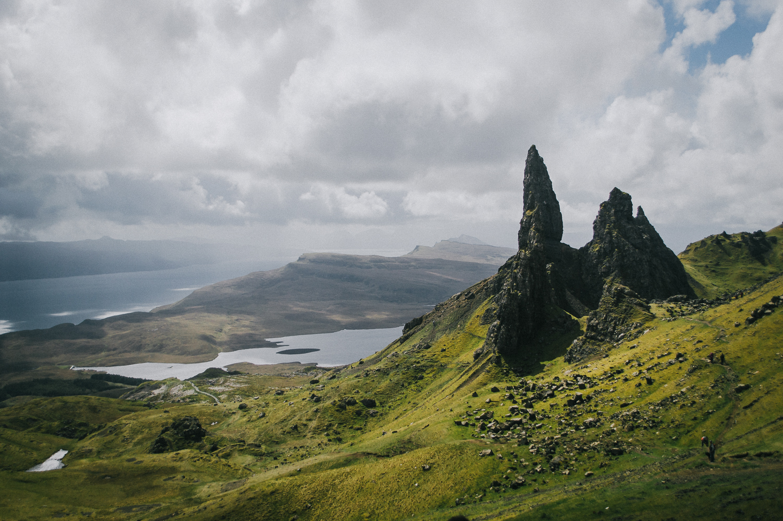 Old Man of Storr    Scottish Highlands : Isle of Skye   2017   Modern : Blast