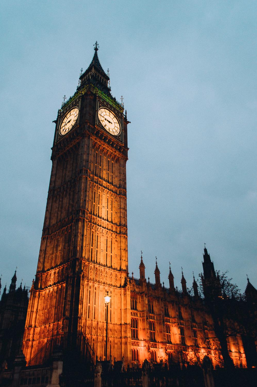 """Brixton Essentials """"Aqua Chill"""" +  Big Ben  in London, England"""