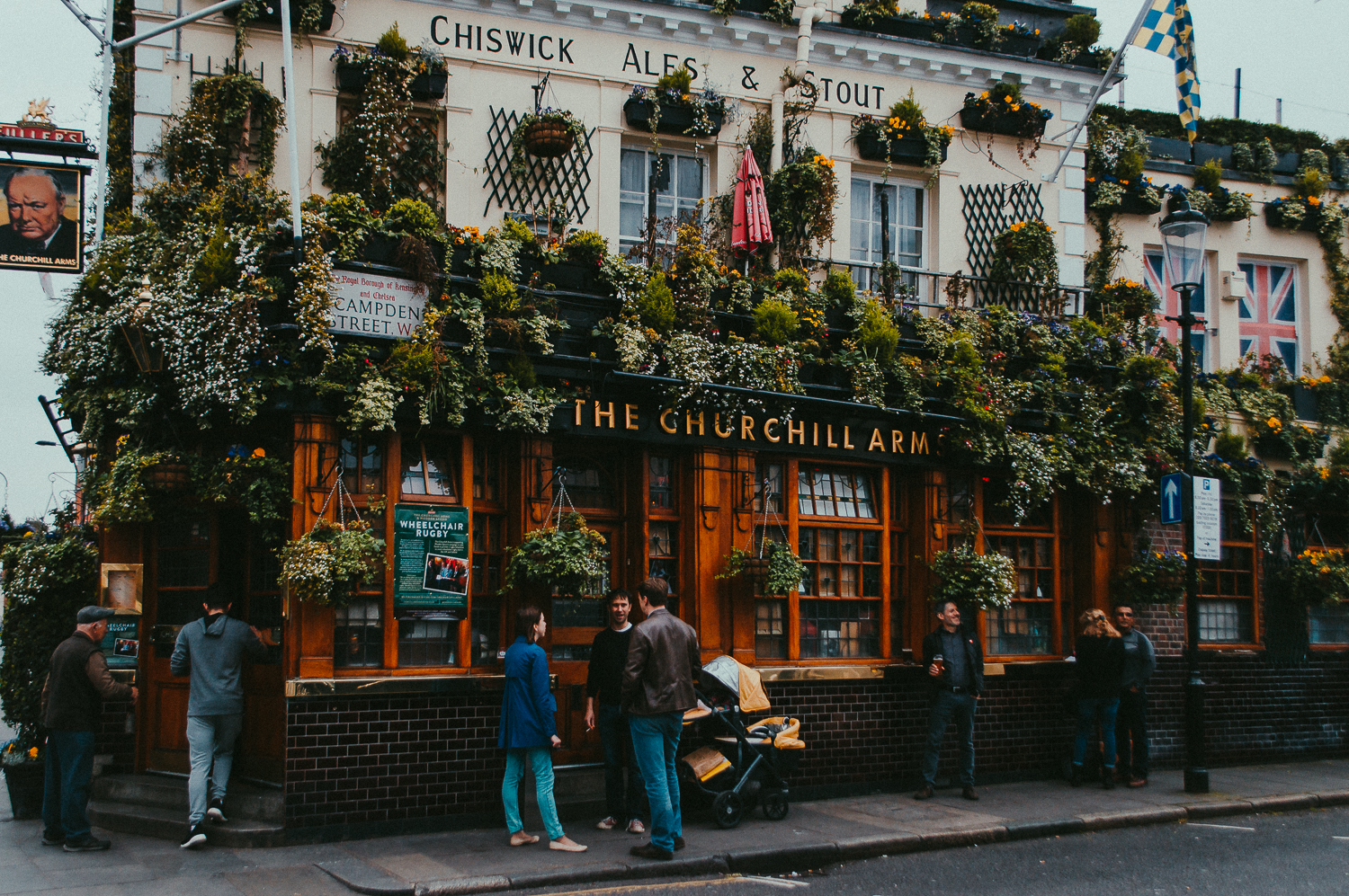 Churchill Arms Pub London