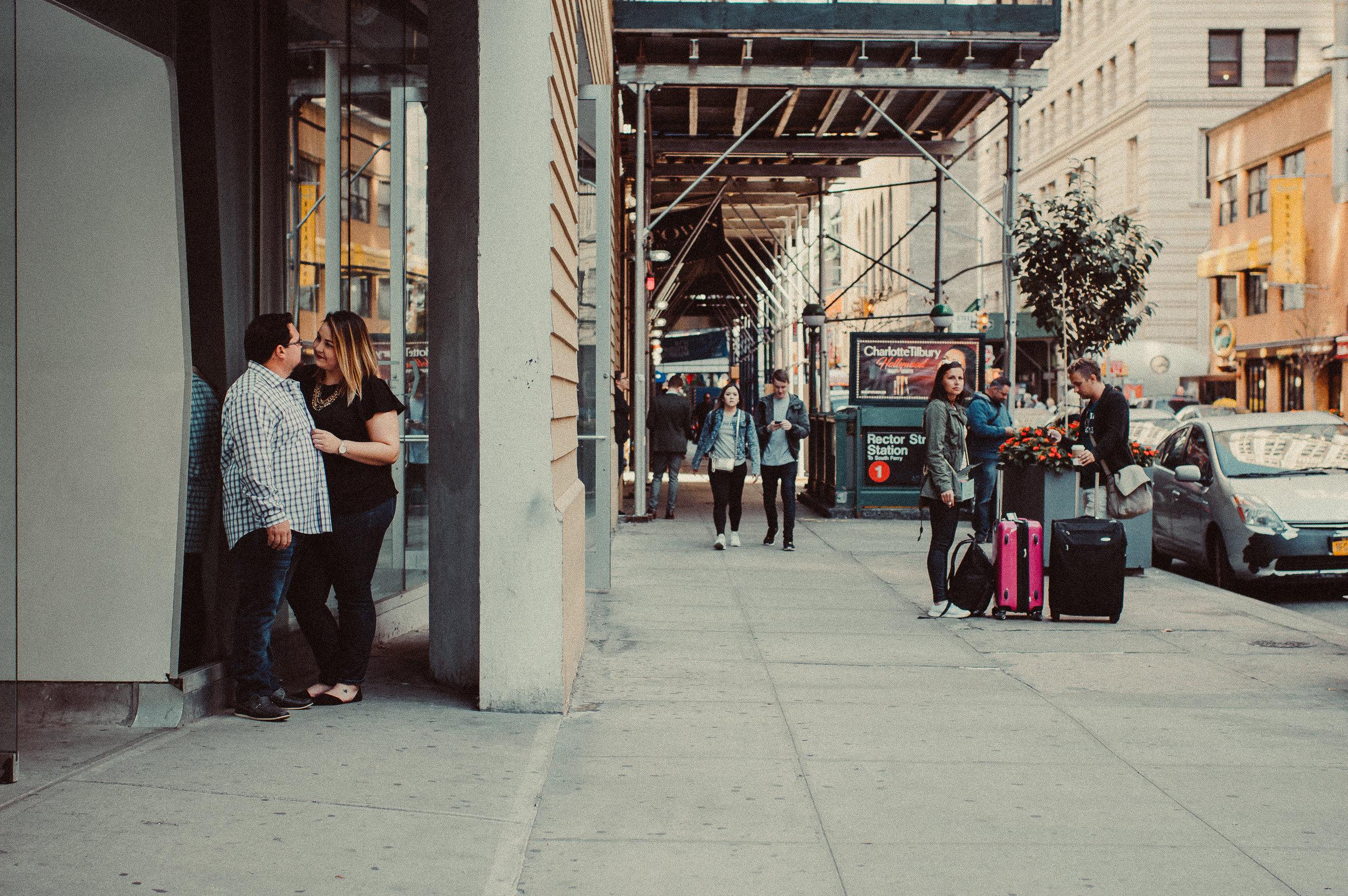 NYC Couples Shoot : Madeline Faye Photography