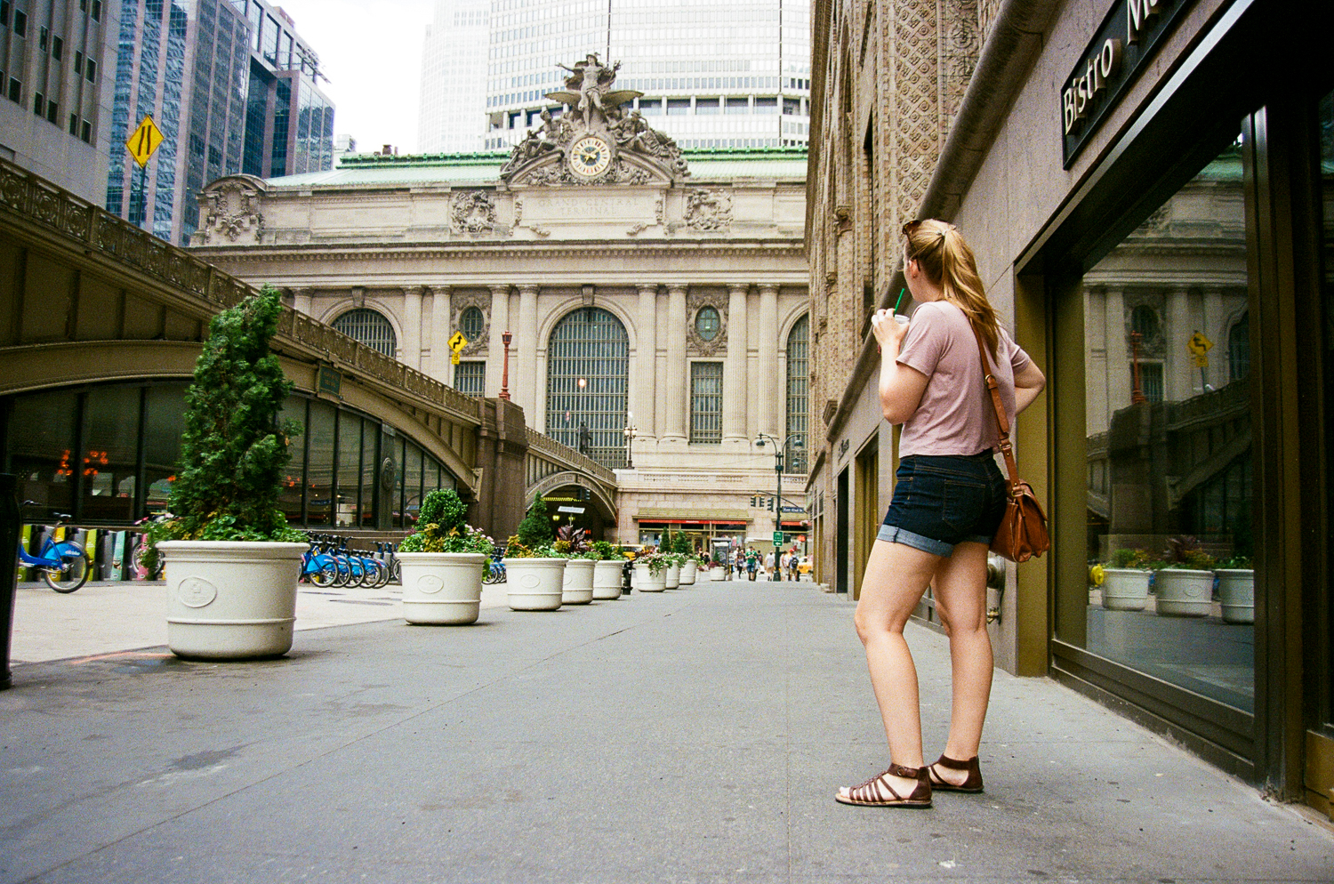 Paige at Grand Central