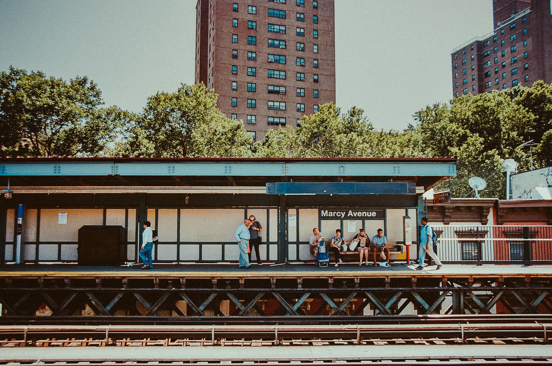 Brooklyn Bound : Marcy Avenue