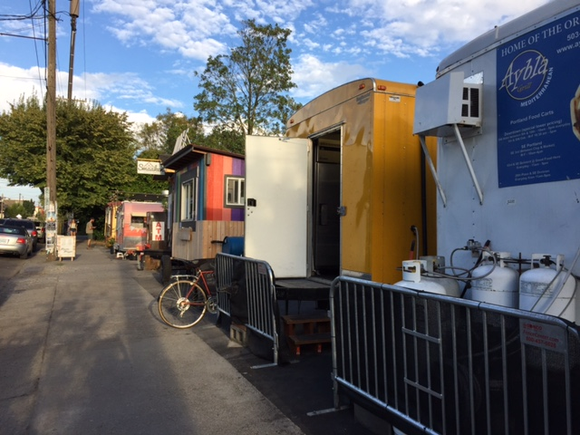 If I had 10 cents for every food cart that adorns the streets of Portland, Oregon...