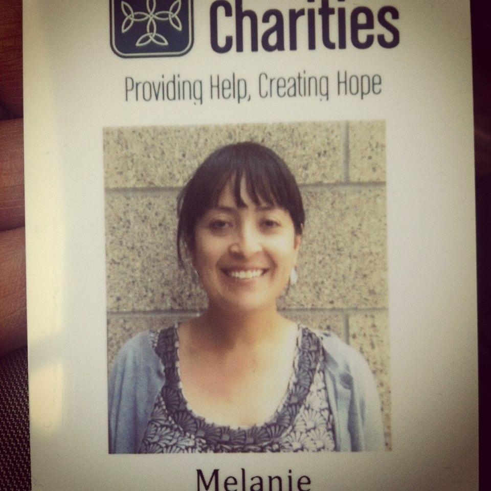 My volunteer immigration attorney badge in Portland