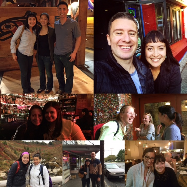 Some of my friends who live in the greater Seattle area who I have been freaking so lucky to see and spend time with.