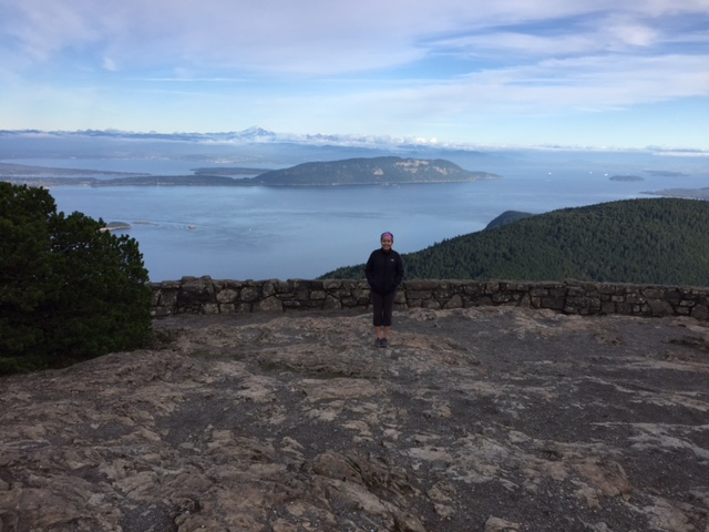 On top of Mount Constitution on Orcas Island—in the San Juan Islands, WA. Thank you to the couple friends in Seattle who recommended I visit to re-energize before forging ahead to Montana. Another domino effect realized!
