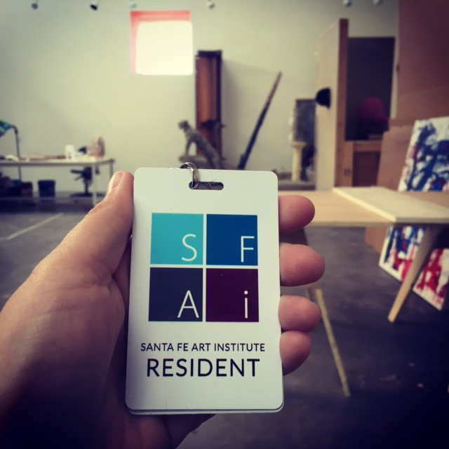 I am grateful to the Santa Fe Art Institute for hosting me this month—I am living with a bunch of awesome artists who are focusing on projects themed around immigration/emigration. Stoked!