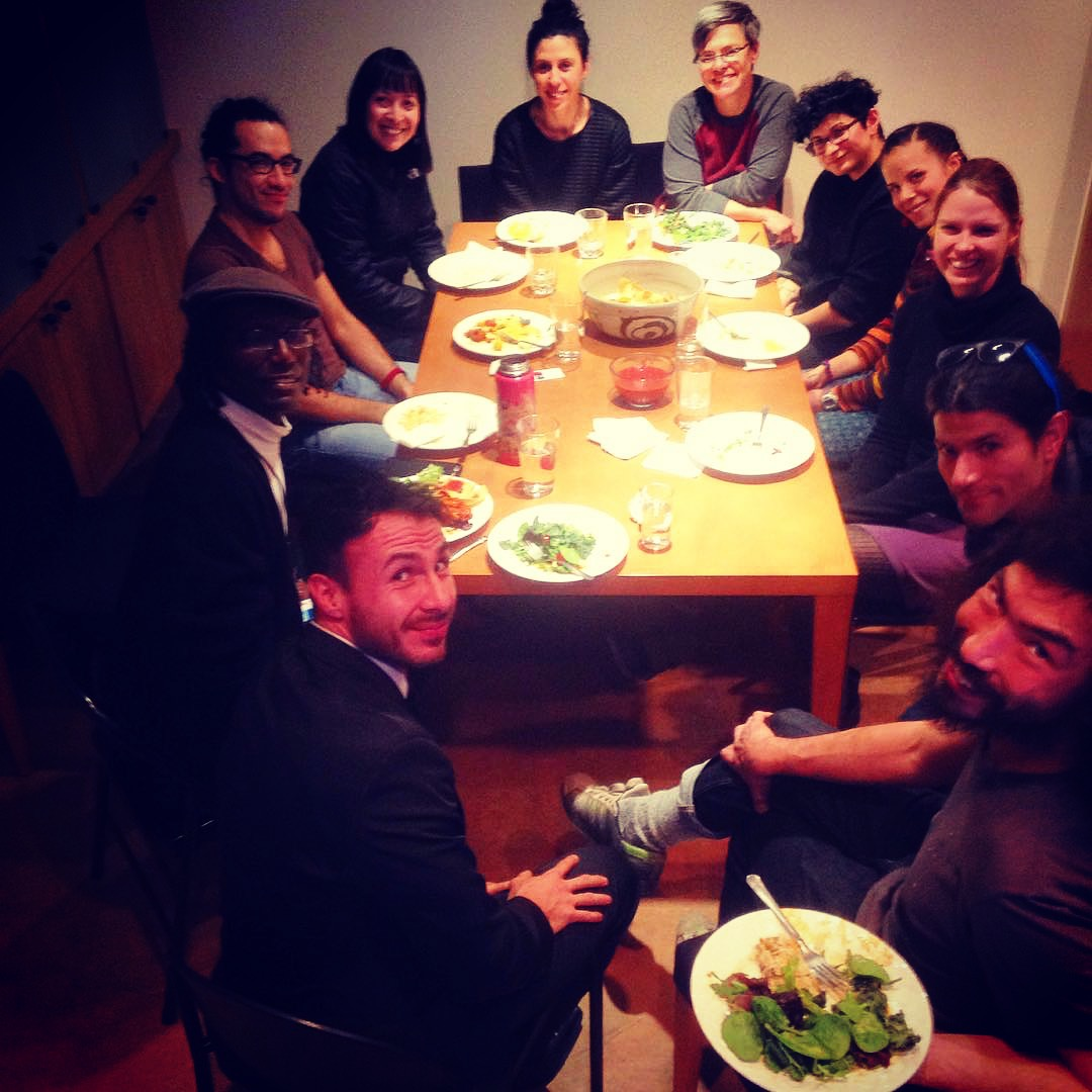 My housemates/friends at the Santa Fe Art Institute