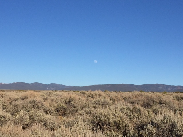 Near the Rio Grande outside of Taos, New Mexico—the Land of Enchantment