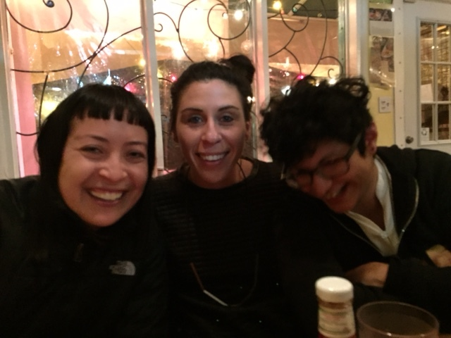 With two of my favorite Canadians who I lived with at the Santa Fe Art Institute (hi Alexis & Shar!)—these two made my whole stay there. Miss you guys.