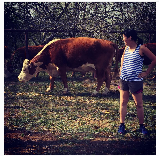 Stop #9: CARA Pro Bono Project @ Dilley Detention Center, Texas -- at the cattle ranch outside of the house I was staying. Those couple weeks were immersed in small town Texas and the detention center.