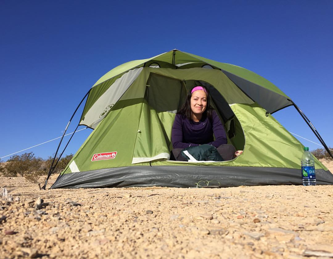 March 2016—Dilley, Texas working at the largest immigrant detention facility in the country. Before arriving, I made my way along West Texas/the border. Here I am camping in Big Bend, near the Rio Grande.