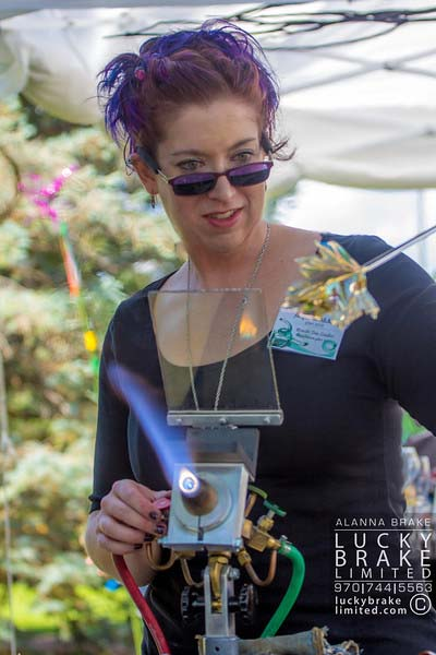 Jacqueline at Art in the Park, Loveland, CO 2013. Photo by Alanna Brake of Lucky Brake.