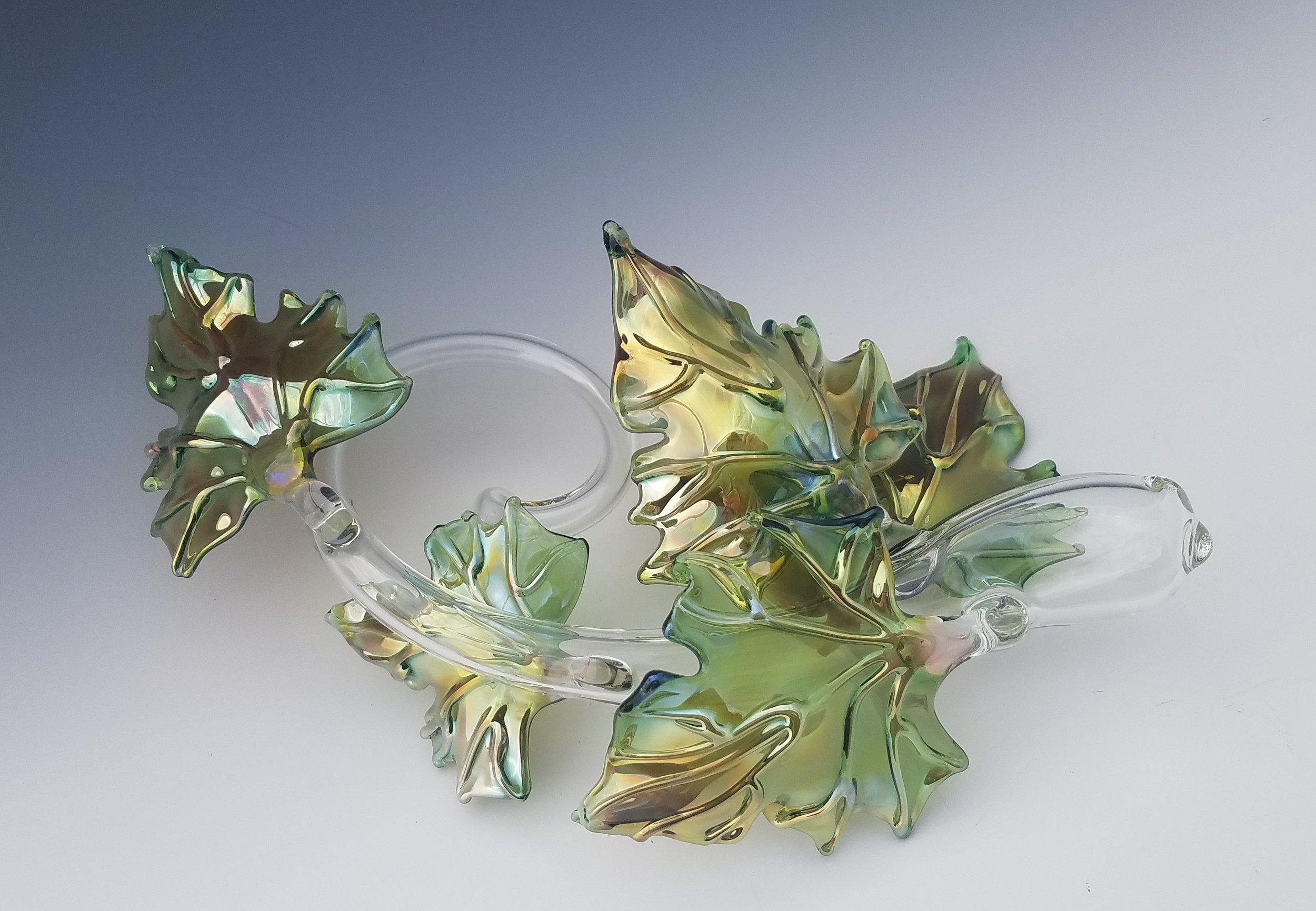 Quin Leaf Sculpture - green back.jpg