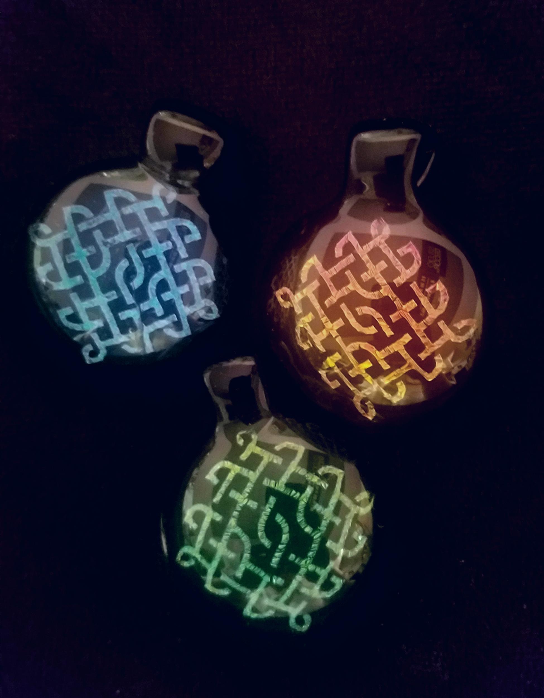 dichro image pendants