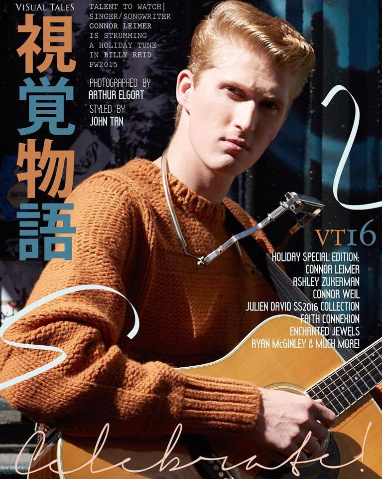 Cover for Visual Tales by Arthur Elgort. in Billy Reid. December 2015.