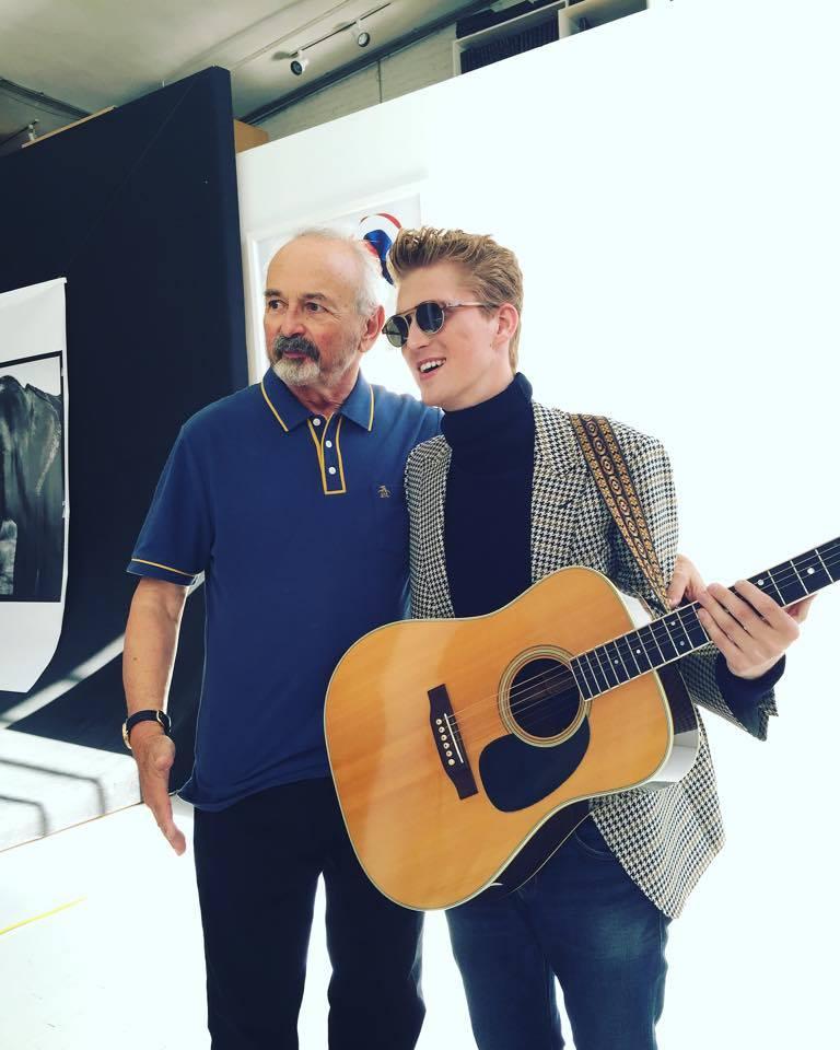 Arthur Elgort & I in his soho studio. New York, NY. Oct. 2015.
