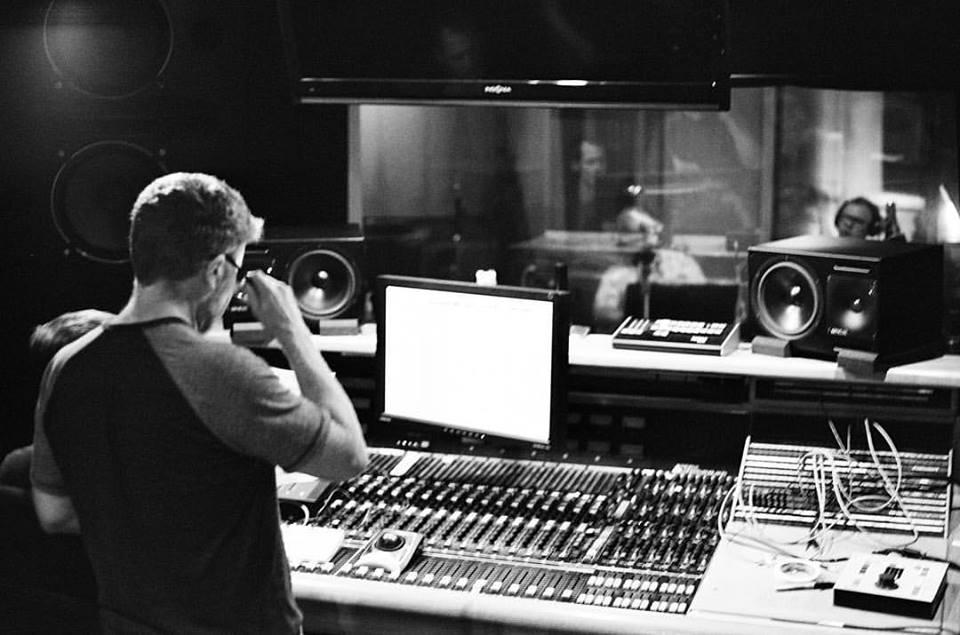 """recording horns w/ Matt Rollings for """"Connor Leimer EP"""" on 35mm film. Nashville, TN. June 2016."""