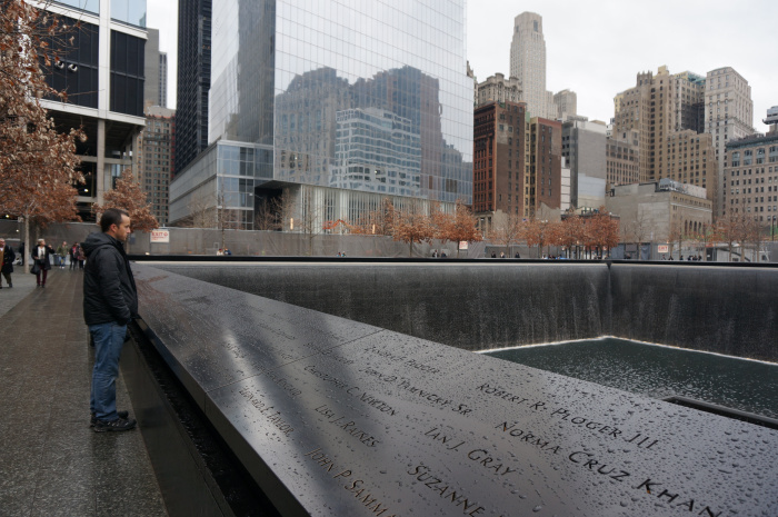 Ground Zero Memorial - An important place for Americans to reflect.