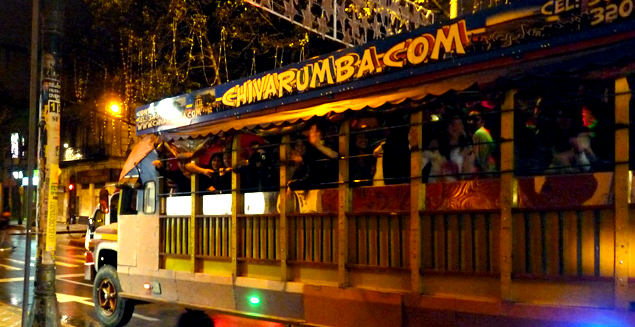 Bogota Party Bus Tours could be fun for a group!