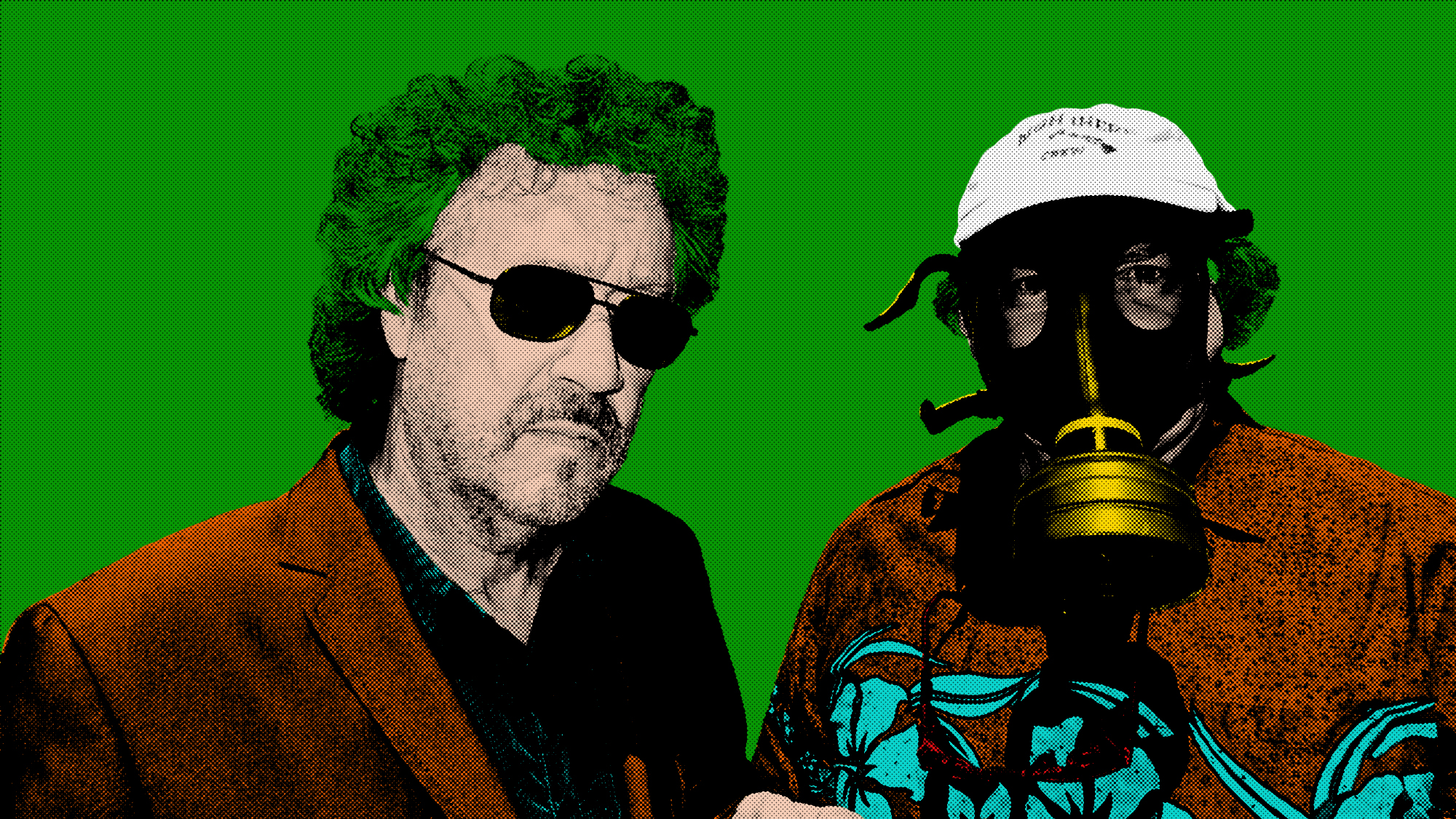 Dave & Roland in the style of AndyWarhol by Deanna22 NZ