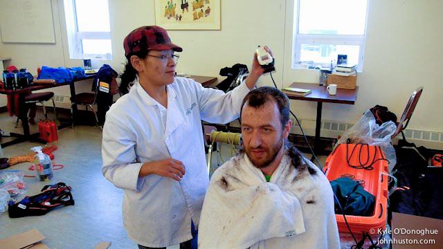 Hugh's New Hairdo