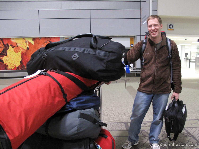 Luggage in Ottawa.