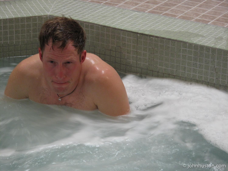Tyler relaxing in Ottawa