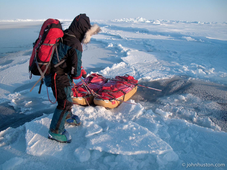 John-Huston-Polar-Explorer-Sled-Pull-North-Pole-Open-Lead.jpg