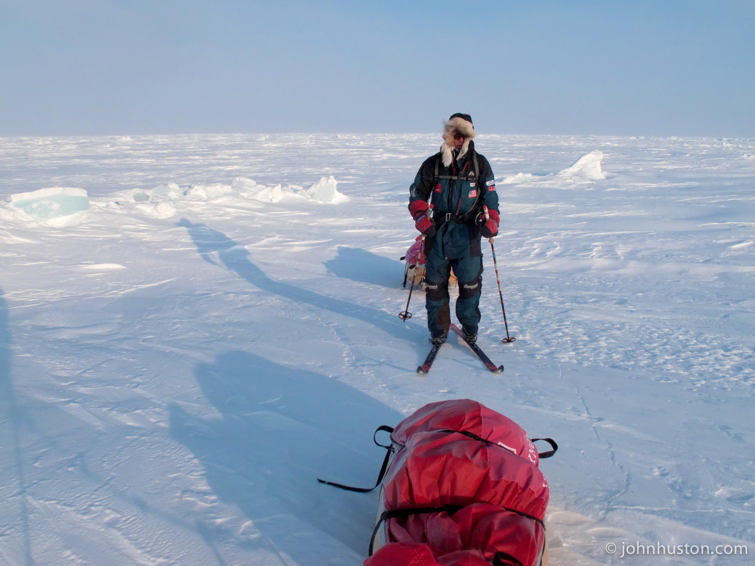 60 nautical miles to the North Pole!