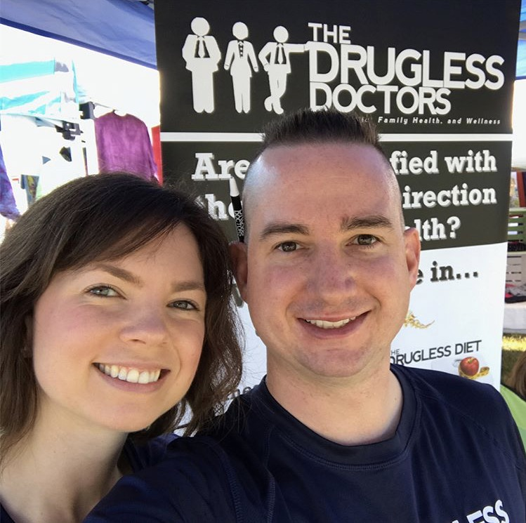 Dr. Casen & Dr. Anthony at The Westside Flea