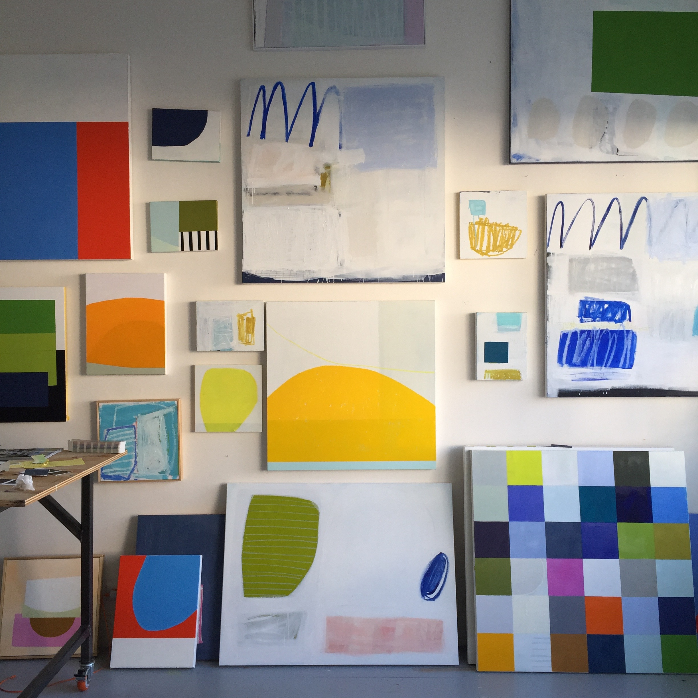 Abstraction No 1 in studio   Laurie Fisher.jpg