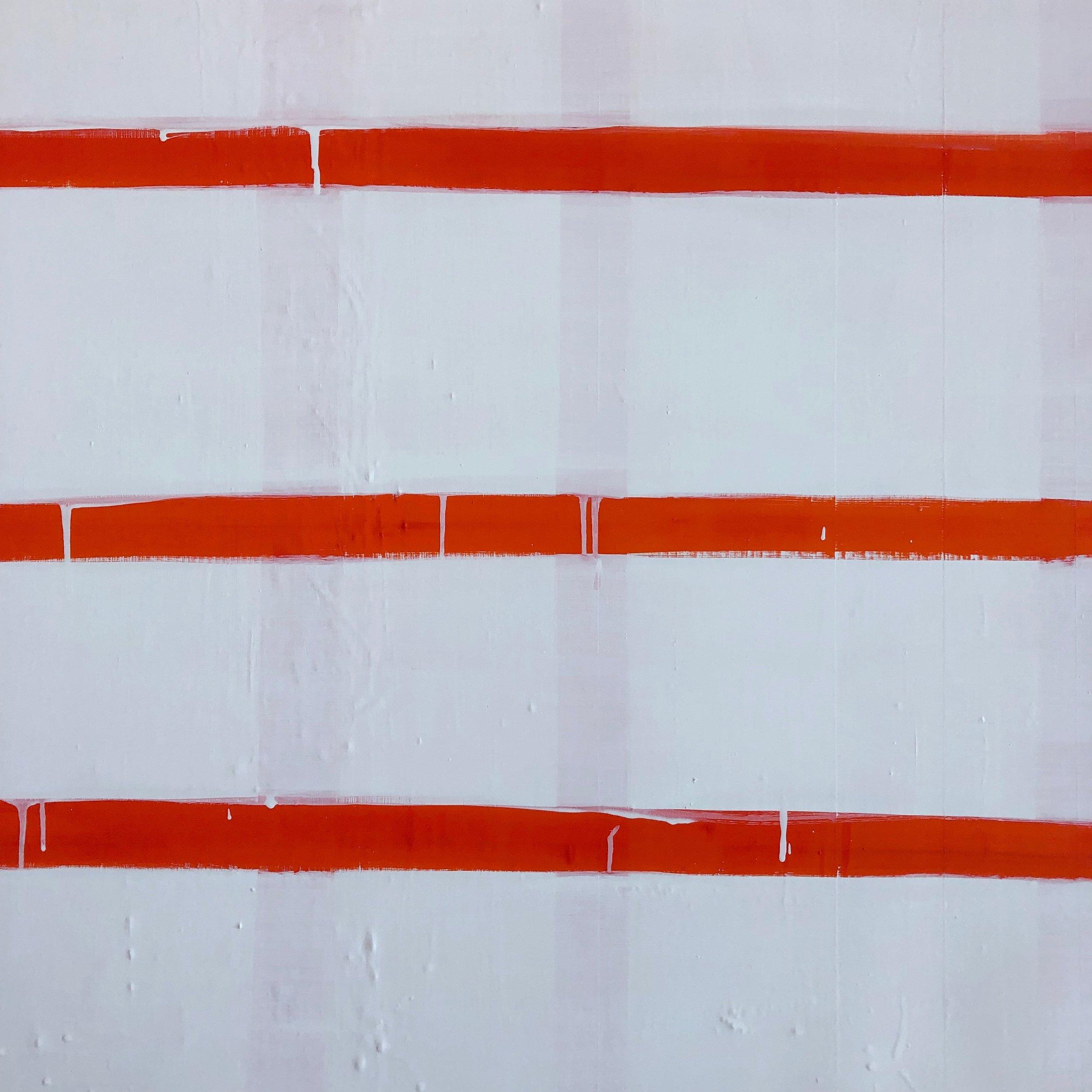 Stripe  In Pyrrole Orange, detail   Laurie Fisher.jpeg