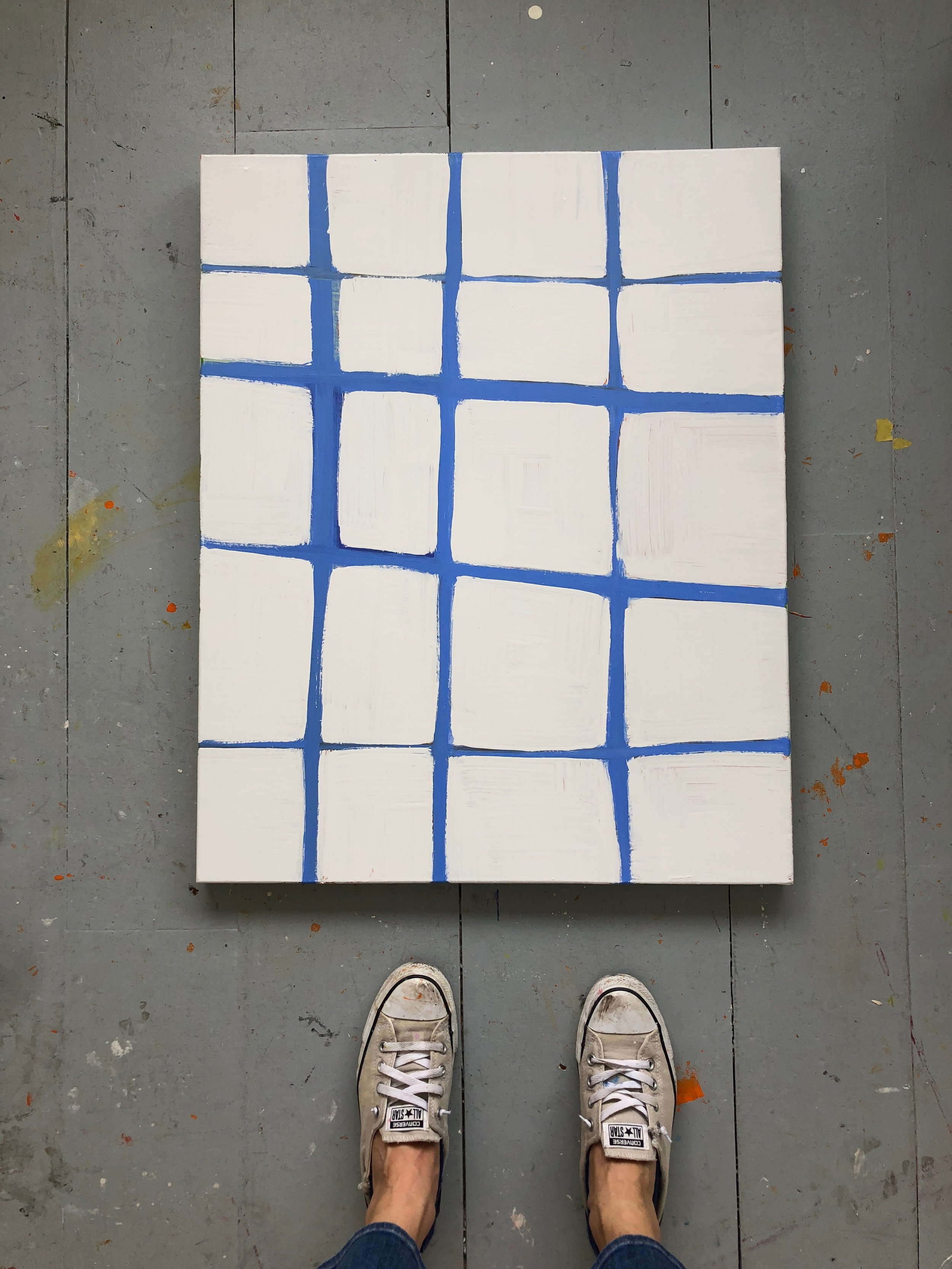 Grid in Blue  Laurie Fisher.jpg
