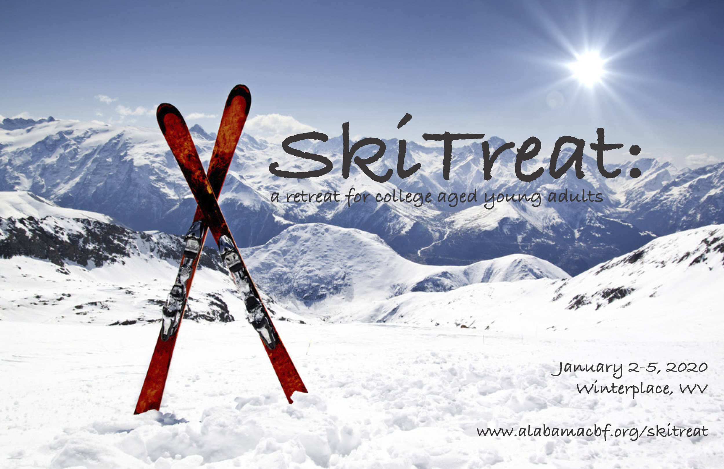 SkiTreat: a retreat for college aged students and their leaders