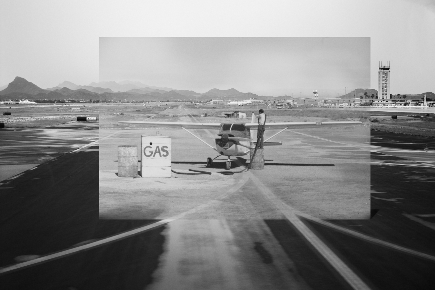 Gas Up the Plane, 2017.