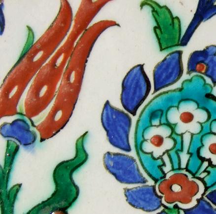 Iznik Tile (detail)